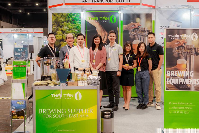 Thái Tân tham dự SEA Brew 2019 tại Thái Lan