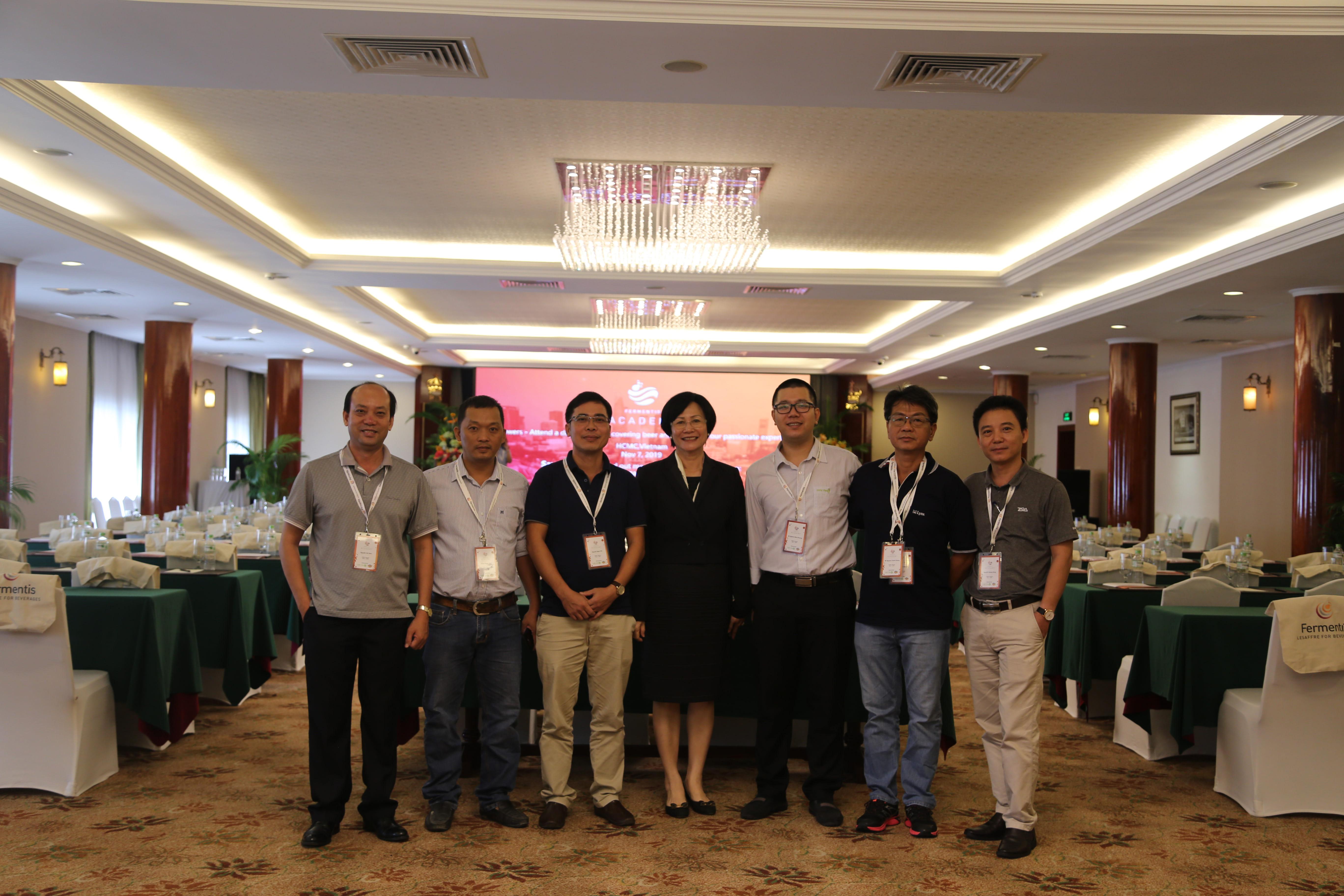 "Thai Tan co-organized ""Fermentis Academy"""