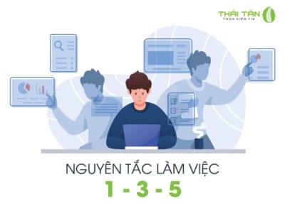 Tìm hiểu nguyên tắc làm việc 1-3-5 tại Thái Tân