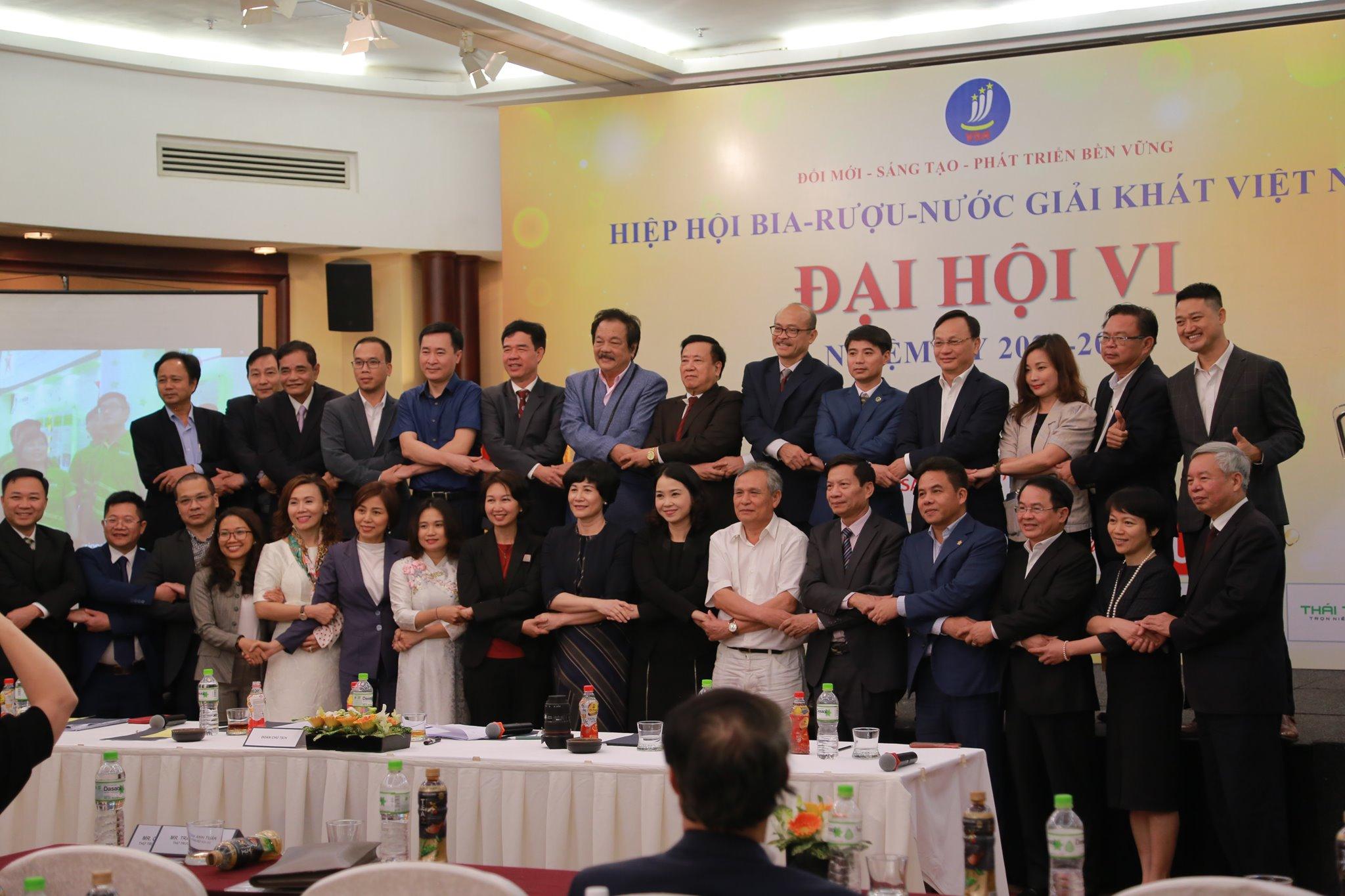 Thái Tân tham dự Đại hội nhiệm kỳ của Hiệp hội bia rượu nước giải khát Việt Nam